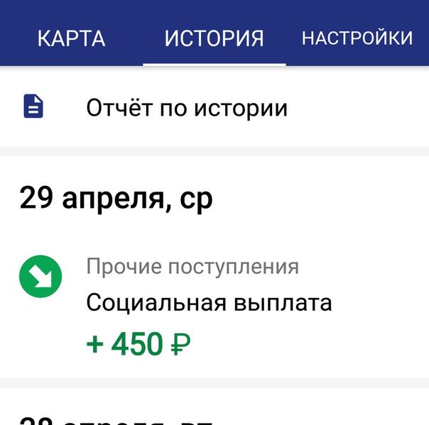 Информация о платеже 5 rus (социальная выплата): что это такое