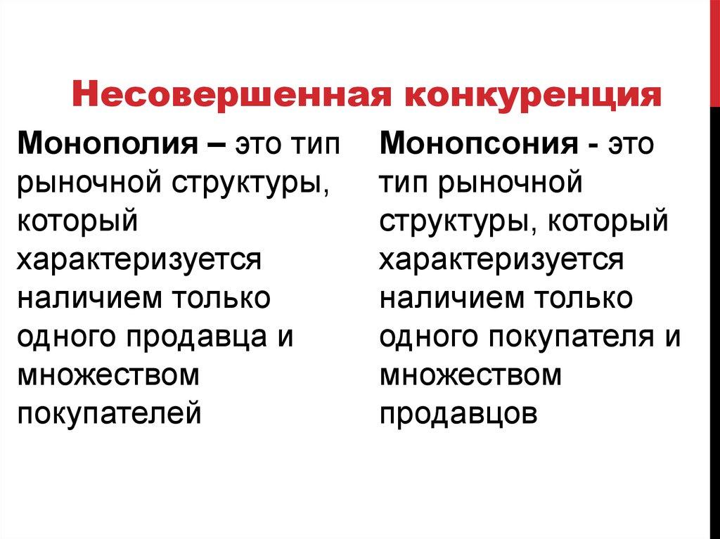 Монопсония википедия