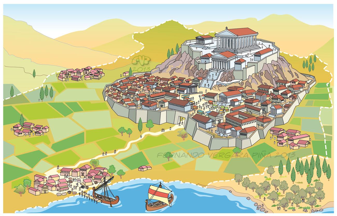 Сущность греческого полиса: понятие «полис», формирование полиса, античная форма собственности на землю, социально-политическая организация. всемирно-историческое значение греческого полиса.