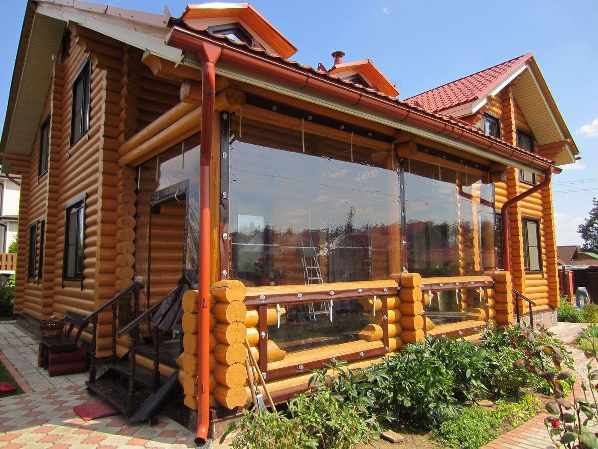 Мягкие окна для веранды и беседок рулонные