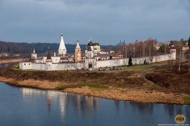 Старица, тверская область - небольшой городок с древней историей