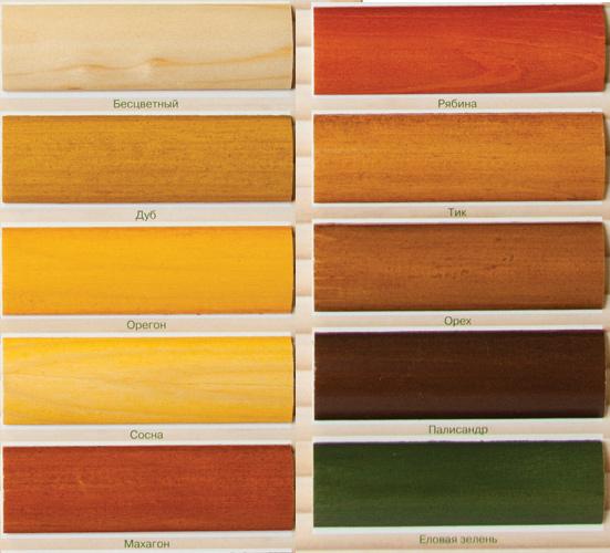 Лессирующая краска для дерева для внутренних работ