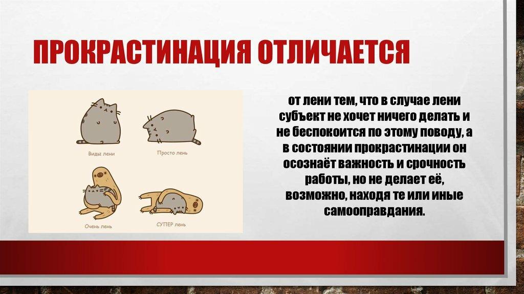 Прокрастинация: лечение, причины. что такое прокрастинация? :: syl.ru