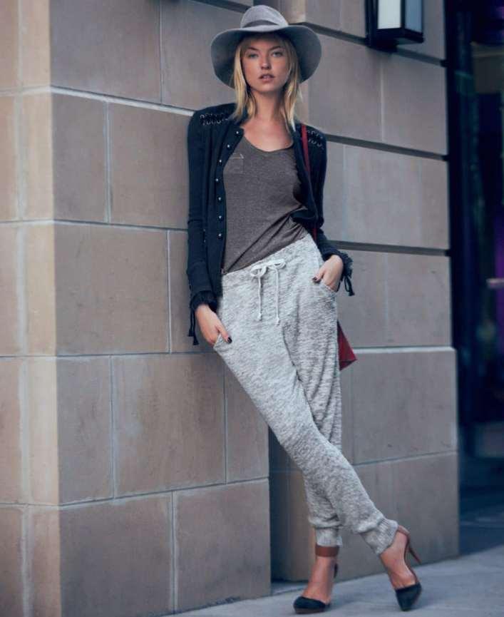 Женские брюки-джоггеры (42 фото): классические, зауженные или укороченные медели