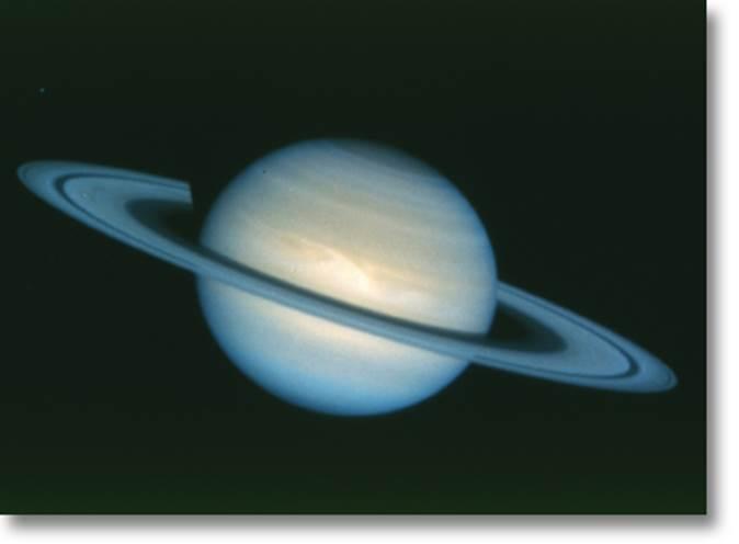 Планета сатурн - удивительно красивый, но жестокий мир
