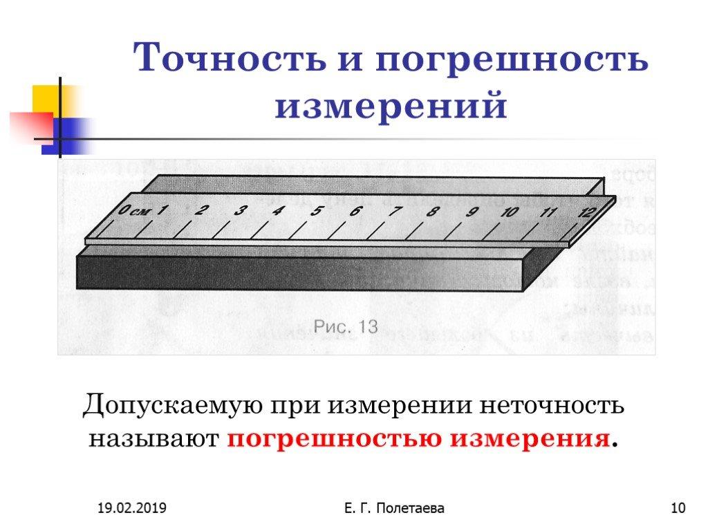 Погрешность измерения — википедия