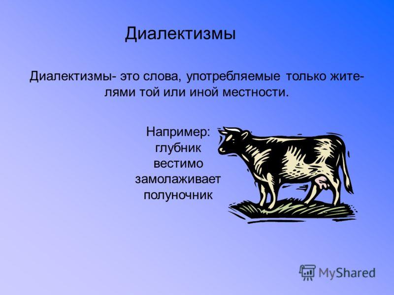 За пределами литературного языка: диалекты и говоры русского языка
