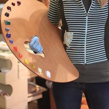 Палитра (20 фото): что это такое и как выглядит палитра цветов, деревянная художественная продукция для рисования красками