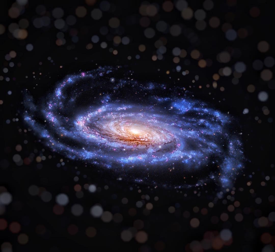 Что такое галактики и какие они бывают?