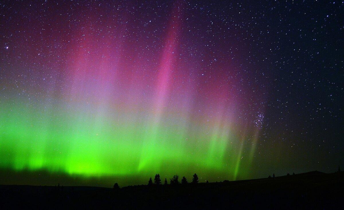 Что такое северное сияние и где можно его увидеть?