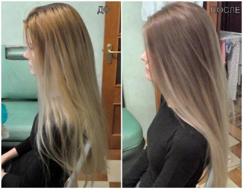 Тонирование волос: плюсы и минусы, фото до и после — сеть салонов красоты naturel studio
