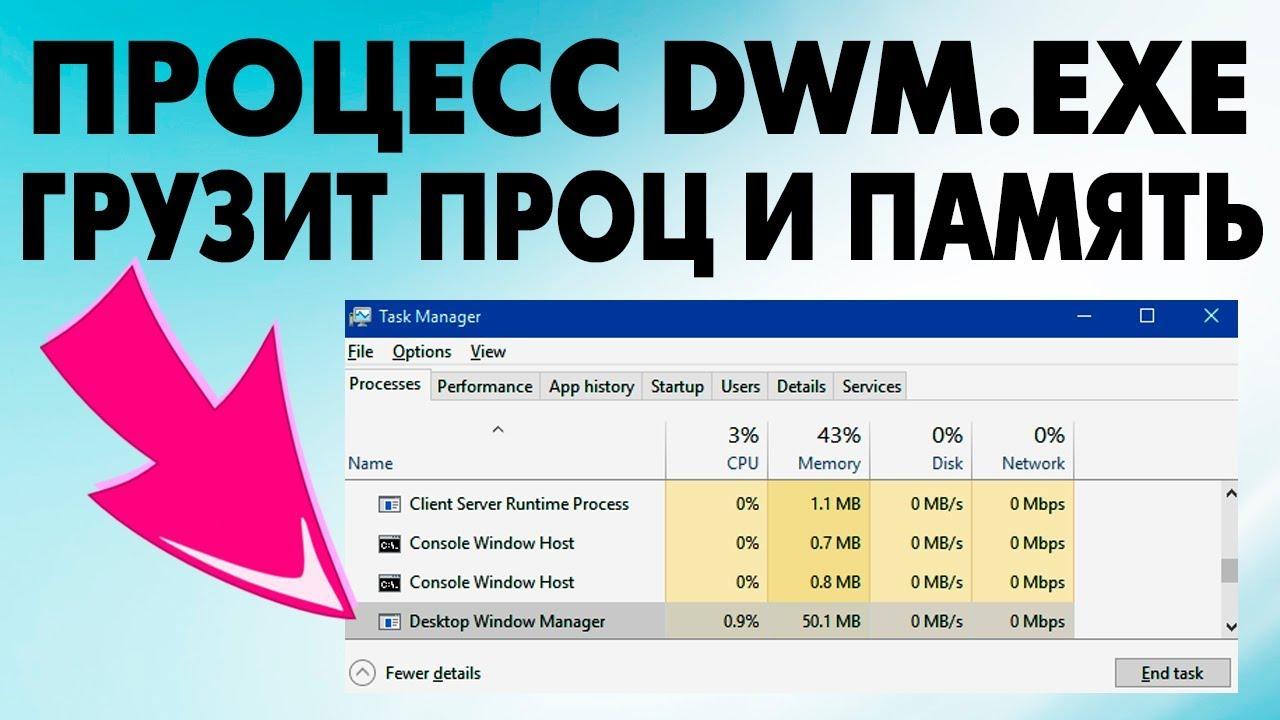 Что такое desktop window manager (dwm.exe) и можно ли его отключить — it expert