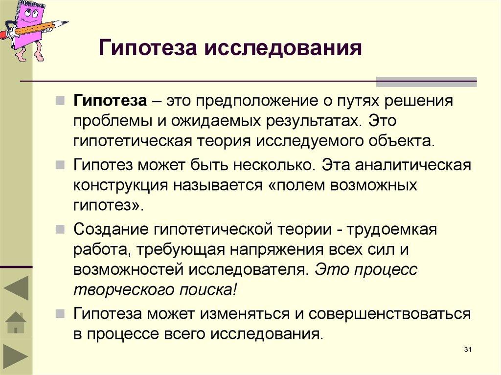 Гипотеза (математика) — википедия. что такое гипотеза (математика)