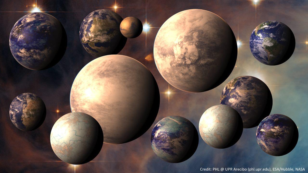Запасной вариант — ближайшие к земле экзопланеты, на которых возможна жизнь (4 фото + видео)