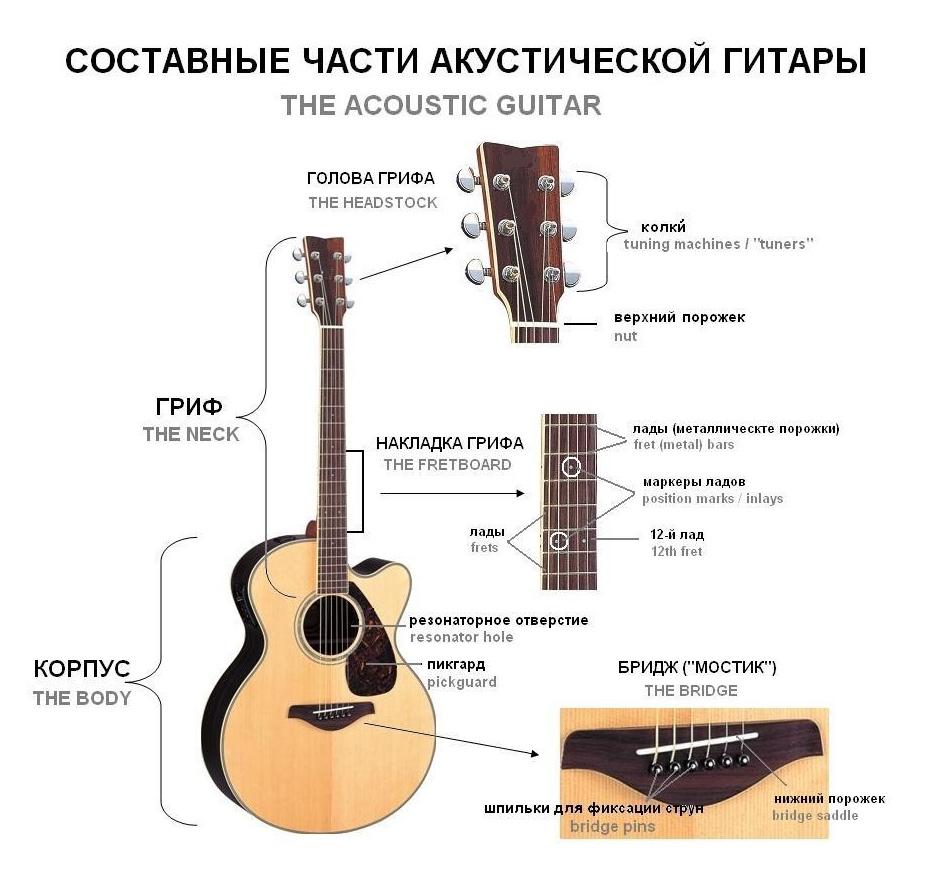Как читать табулатуры для гитары?