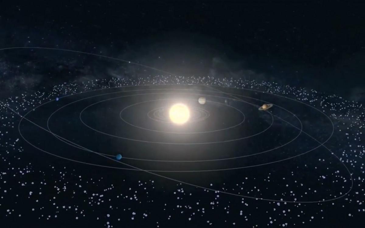 Пояс койпера и облако оорта » око планеты информационно-аналитический портал
