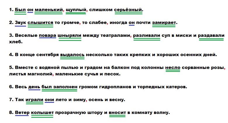 Однородные сказуемые – примеры, правило (русский язык, 4 класс) - помощник для школьников спринт-олимпик.ру
