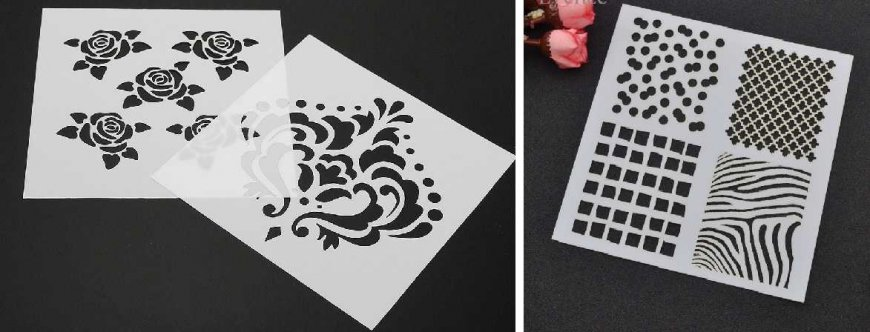 Декор своими руками?: 30 шаблонов трафаретов на любой вкус