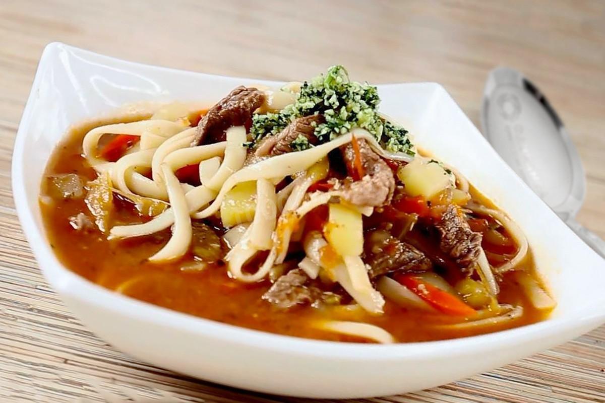 Лагман – кулинарный рецепт