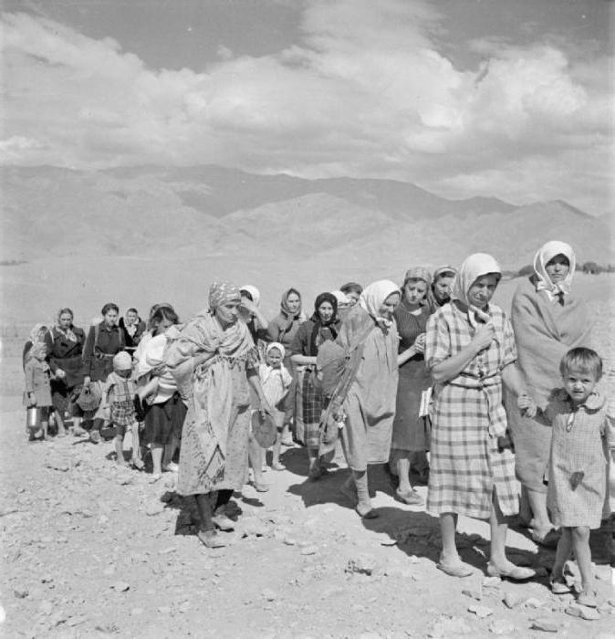 Депортации народов в ссср — википедия. что такое депортации народов в ссср