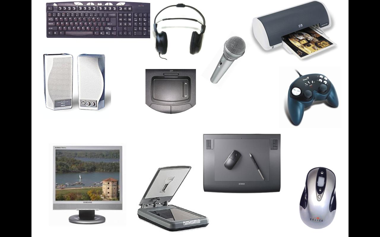 Основные устройства компьютера. внутренние и периферийные