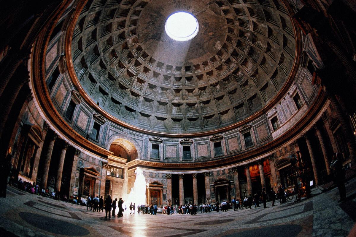 Пантеон рим - древний купольный храм всех богов: история римского пантеона, кто похоронен и интересные факты