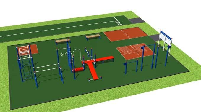 Спортивные плоскостные сооружения и их особенности