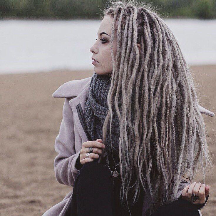 Де-дреды на длинные волосы (фото). особенности прически - luv.ru