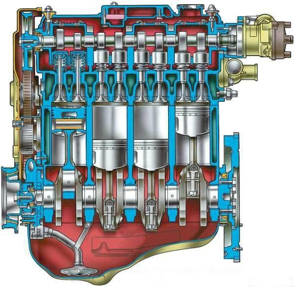 Что такое такое степень сжатия двигателя и на что она влияет