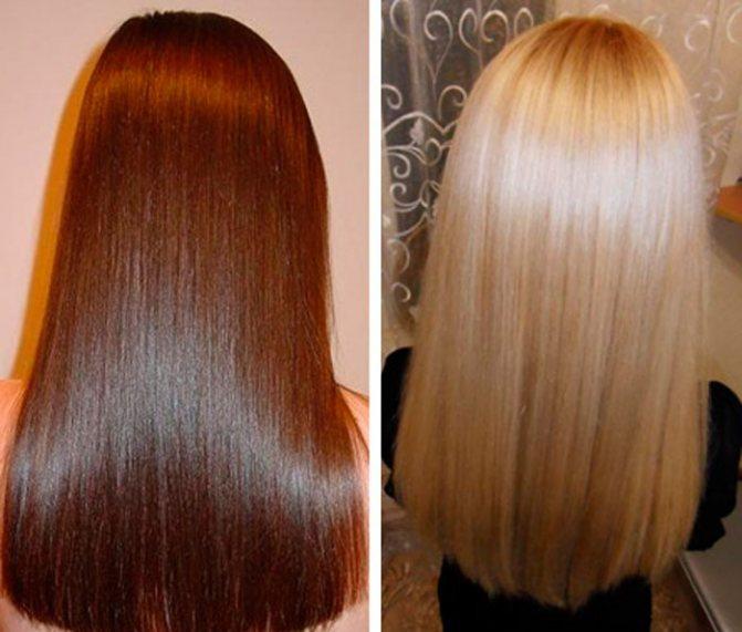 Ламинирование волос, чем оно полезно и как делать