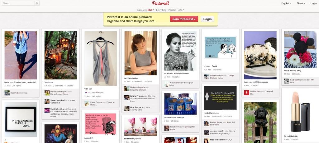 Обзор сайта pinterest на русском языке