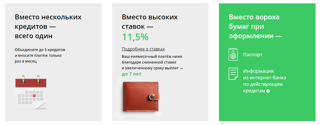 Рефинансирование кредита в сбербанке россии по ставке от 12,4%, условия перекредитования для физических лиц в москве, онлайн расчет