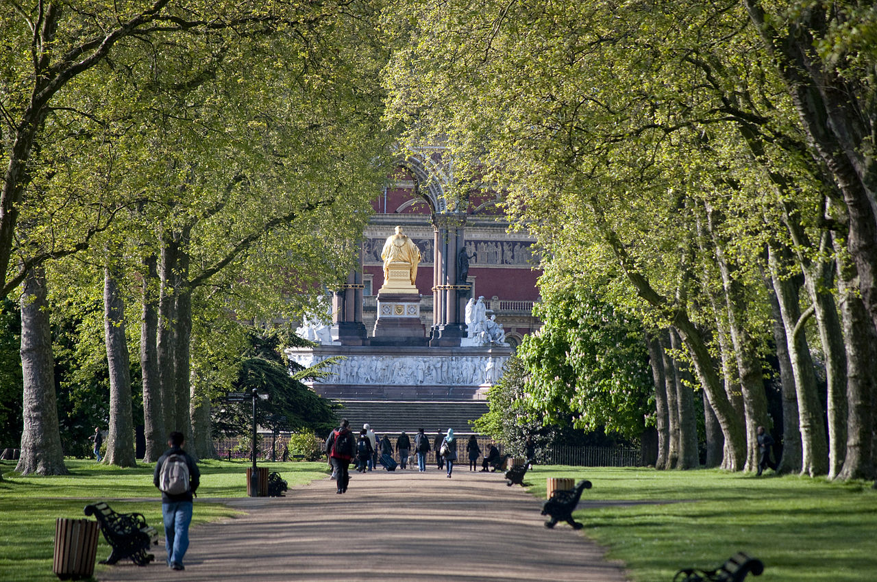 Гайд-парк — остров безмятежной природы в центре лондона