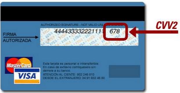 Где находится код cvv и cvc на карте сбербанка?