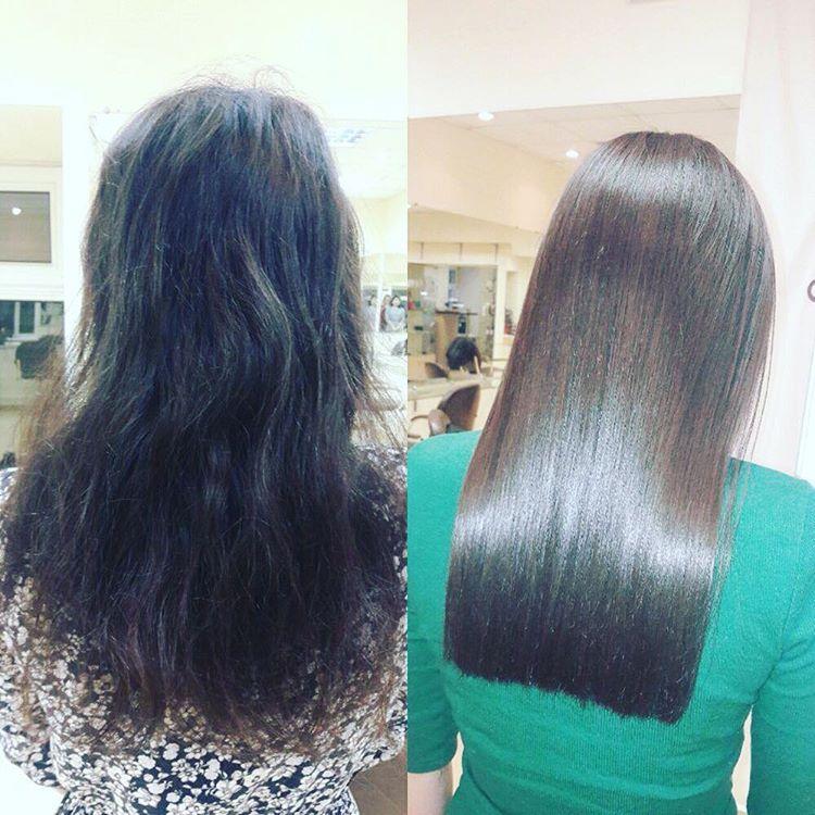 Все за и против кератинового выпрямления волос процедуры, плюсы и минусы, возможный вред и последствия