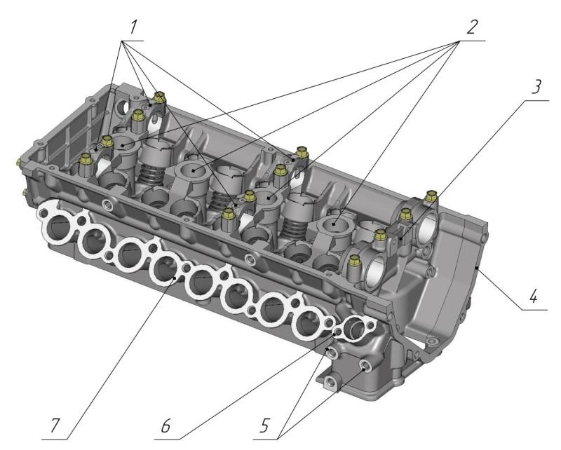 Головки блоков цилиндров: устройство, особенности конструкции | авточас