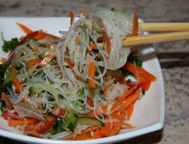 Фунчоза: польза и вред, калорийность, рецепты приготовления с фото