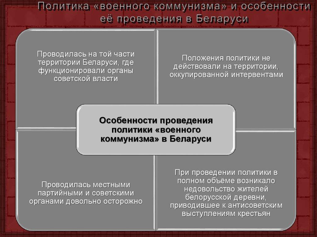 Егэ. история. кратко. военный коммунизм