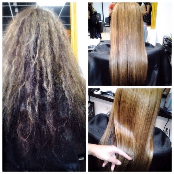 Что такое кератиновое выпрямление волос – плюсы и минусы, фото до и после
