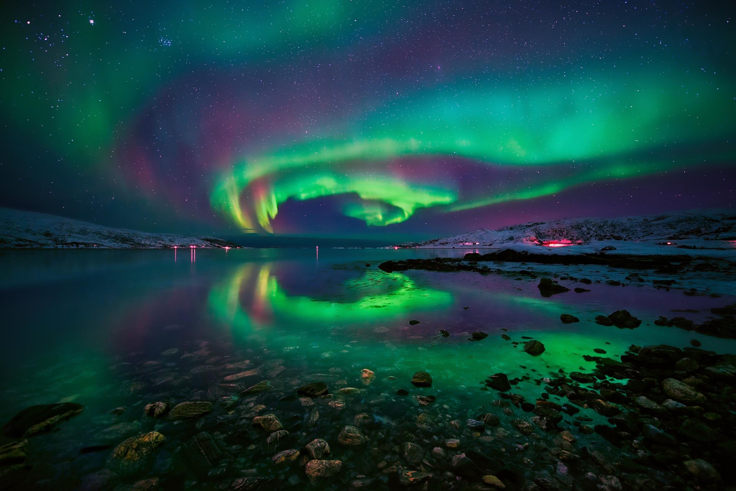 Северное сияние | любопытные подробности обо всем на свете!