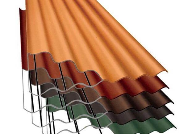 Всё о металлическом шифере для крыши: описание, область применения и цены