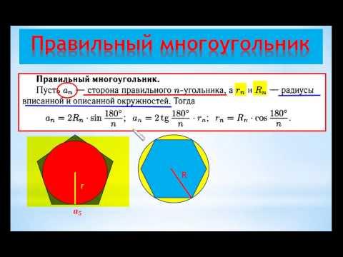 Многоугольник — википедия. что такое многоугольник