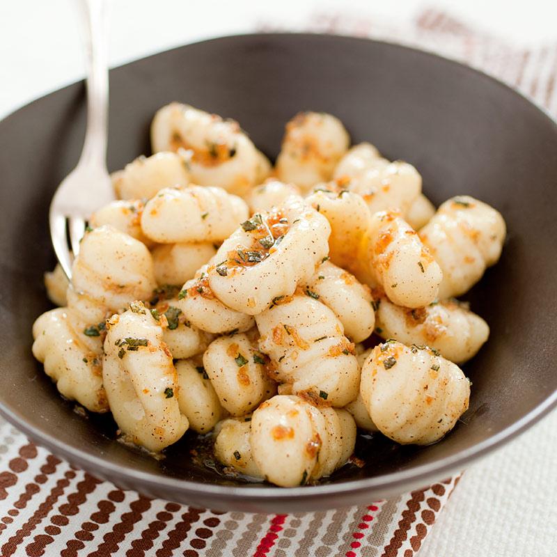 Тыквенные ньокки с грибным соусом – кулинарный рецепт