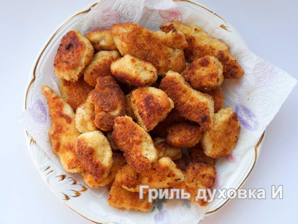 Куриные наггетсы классические – кулинарный рецепт