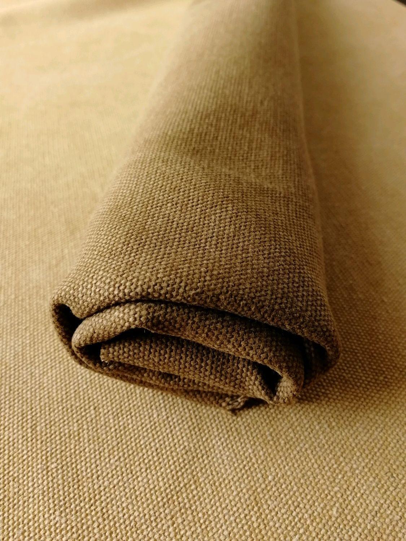 Чем примечателен портьерный материал канвас: описание свойств ткани