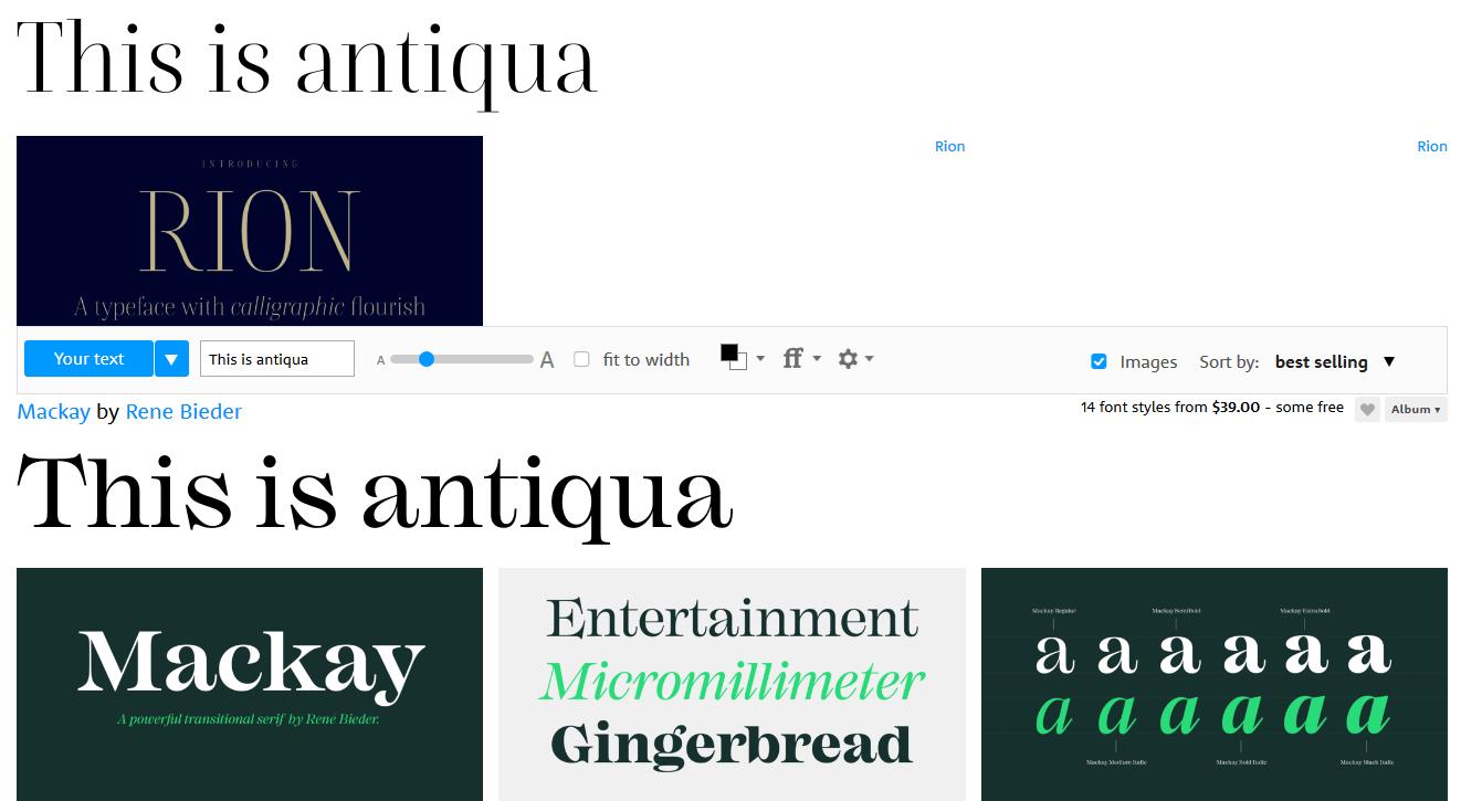 Что такое типографика и какие шрифты использовать на сайте —руководства на skillbox