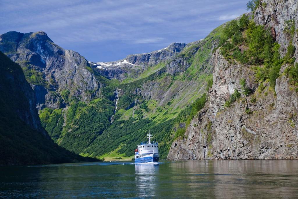 Список фьордов в норвегии