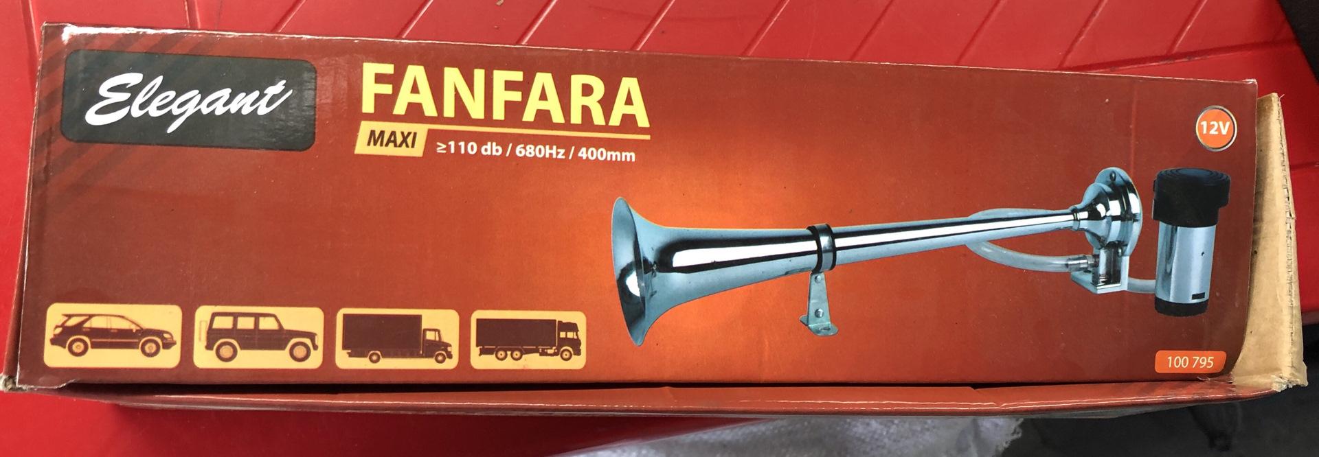 Фанфара — википедия