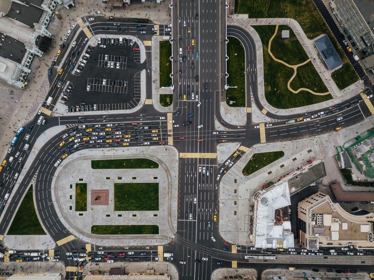 Правила проезда нерегулируемых перекрёстков