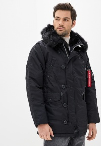 Мужская парка – тёплая меховая куртка с капюшоном
